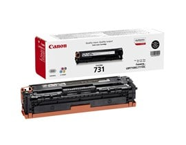 Canon 731 (Yield: 1,400 Pages) Black Toner Cartridge