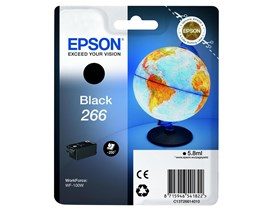 Epson Globe 266 (Yield 250 Pages) Ink Cartridge (Black)