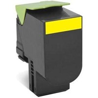 Lexmark Return Program 802HY (High Yield: 3,000 Pages) Yellow Toner Cartridge