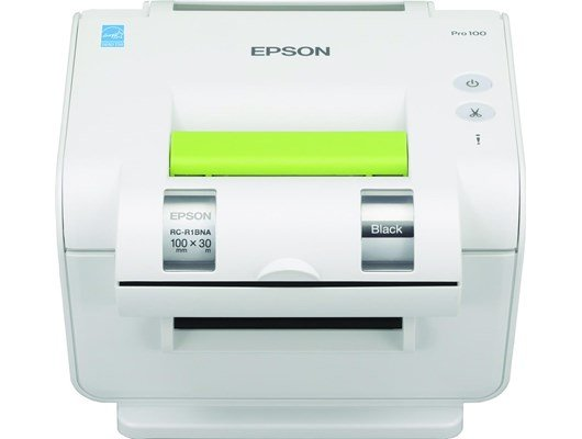 Epson LabelWorks Pro100 (100mm) 20mm/sec 300 dpi Direct Thermal Label Maker