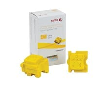 Xerox ColorQube 108R00997 (Yield: 4,200 Pages) Yellow Solid Ink Sticks Pack of 2