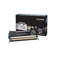 Lexmark Return Program (High Yield: 12,000 Pages) Black Toner Cartridge for X746/ X748 printers