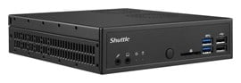 Shuttle DH110 XPC Slim Barebone PC Intel H110 32MB Intel LGA1151 No Operating System