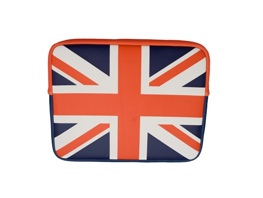 Urban Factory Neoprene (UK) Flag Sleeve for 10 inch Tablet