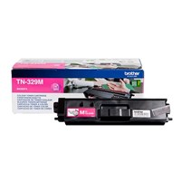 Brother TN-329M (Yield: 6,000 Pages) Magenta Toner Cartridge