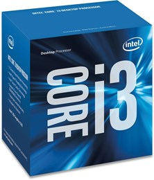 Intel Core i3 7100 3.9GHz Dual Core (Socket 1151)