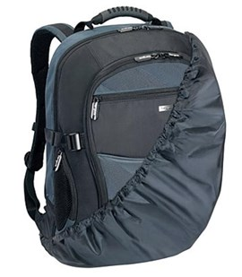 Targus XL Notebook Backpac (Black and Blue)
