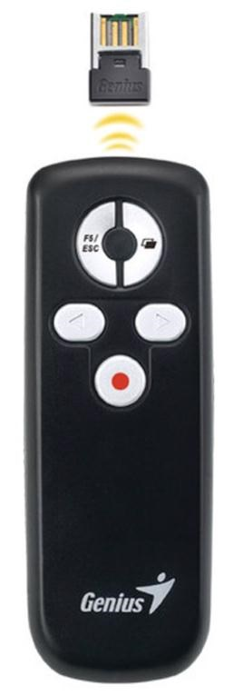 Genius Media Pointer 100 Presentation Remote Control