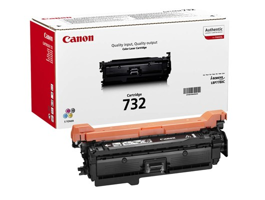 Canon 732 (Yield: 6,100 Pages) Black Toner Cartridge
