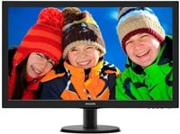 Philips 273V5LHSB 27 inch LED Monitor - Full HD 1080p, 5ms, HDMI