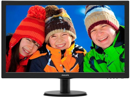 "Philips 273V5LHSB 27"" Full HD LED Monitor"