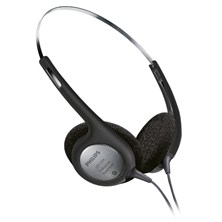 Philips LFH2236 Transcription Stereo Headphones (Black)