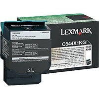Lexmark Return Program (Extra High Yield: 6,000 Pages) Black Toner Cartridge for C544, X544 Colour Laser Printers