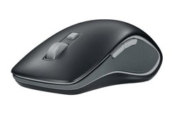 Logitech M560 Wireless Bluetooth Optical Mouse with USB Nano-Receiver (Black)