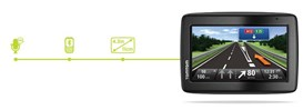 TomTom Via 130 (4.3 inch) Portable Car Navigation System with Europe Maps