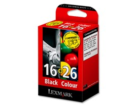 Lexmark No 16 and No 26 Ink Cartridges (Combo Pack)
