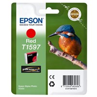 Epson Kingfisher T1597 UltraChrome Hi-Gloss2 Red Ink Cartridge