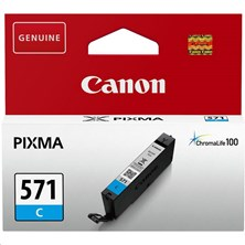 Canon CLI-571C (Yield: 345 Pages) Cyan Ink Cartridge