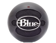 Blue Microphones Blue Snowball USB Microphone (Gloss Black)