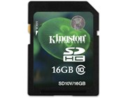 Kingston (16GB) SDHC Class 10 Flash Card