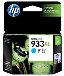 HP 933XL (Yield 825 Pages) Cyan Ink Cartridge for Officejet Premium 6700 e-All-in-One Inkjet Printer