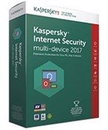 Kaspersky Lab Internet Security 2017 MD 3 Devices 1 Year Retail DVD Box No Disc
