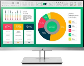 "HP EliteDisplay E223 21.5"" Full HD LED IPS Monitor"