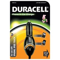 Duracell Car Charger - for Apple iPhone
