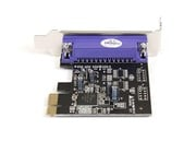 StarTech.com 1 Port PCI Express Low Profile Parallel Adaptor Card - SPP/EPP/ECP