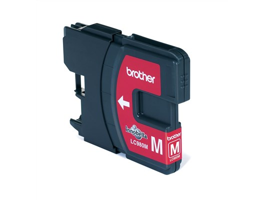 Brother LC980M Inkjet Cartridge (Magenta)