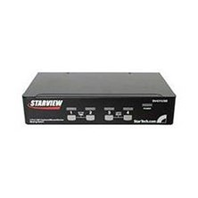 StarTech.com StarView SV431USB - KVM switch - USB - 4 ports - 1 local user - USB - 1U