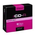 Intenso CD-R 800MB 90 Minute 10 Pack With Slimine Cases