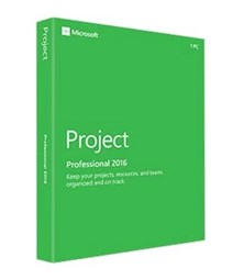 Microsoft Project Professional 2016 Windows English Medialess