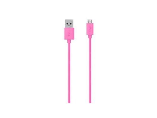 belkin (2m) micro usb cable colour range (pink) - f2cu012bt2m-pnk   ccl  computers  ‹