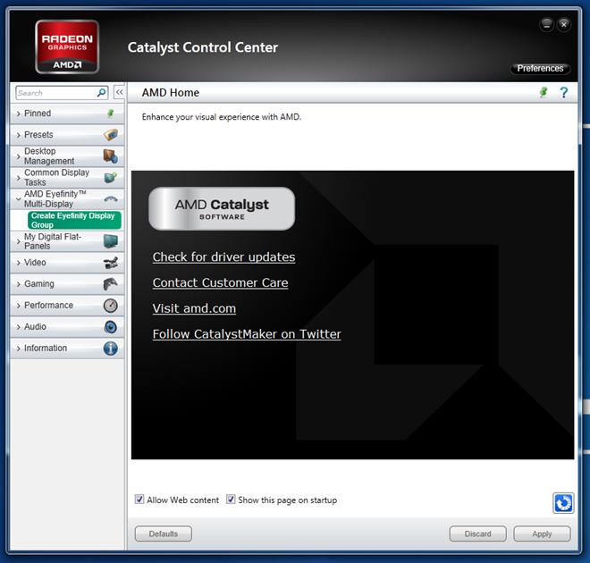 Configuring Multiple Monitors - AMD Eyefinity (Single GPU