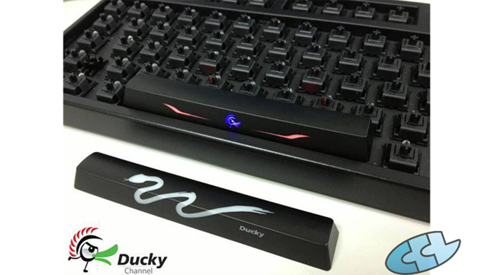 e102d33ad56 Ducky to include a less flamboyant spacebar with the Shine 3   CCL ...