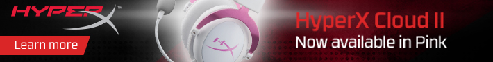 HyperX Cloud II Pink