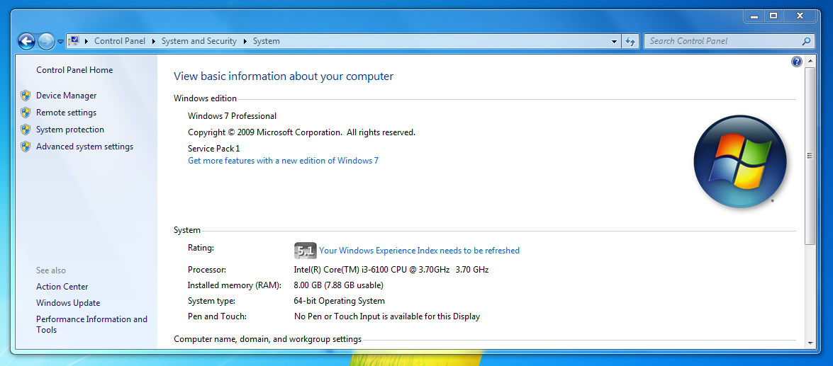 Match making software for windows 7