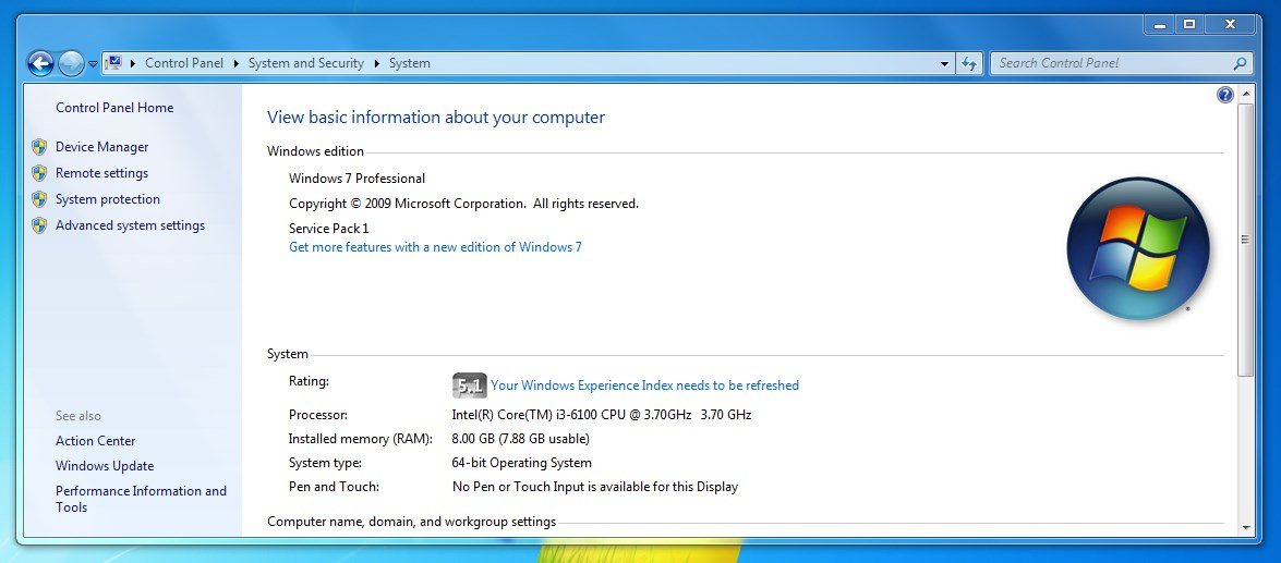 Windows 7 - Unable to Download or Install Updates from