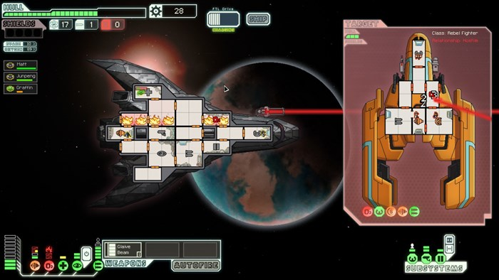 Faster Than Light - The Game - Stealth Ship