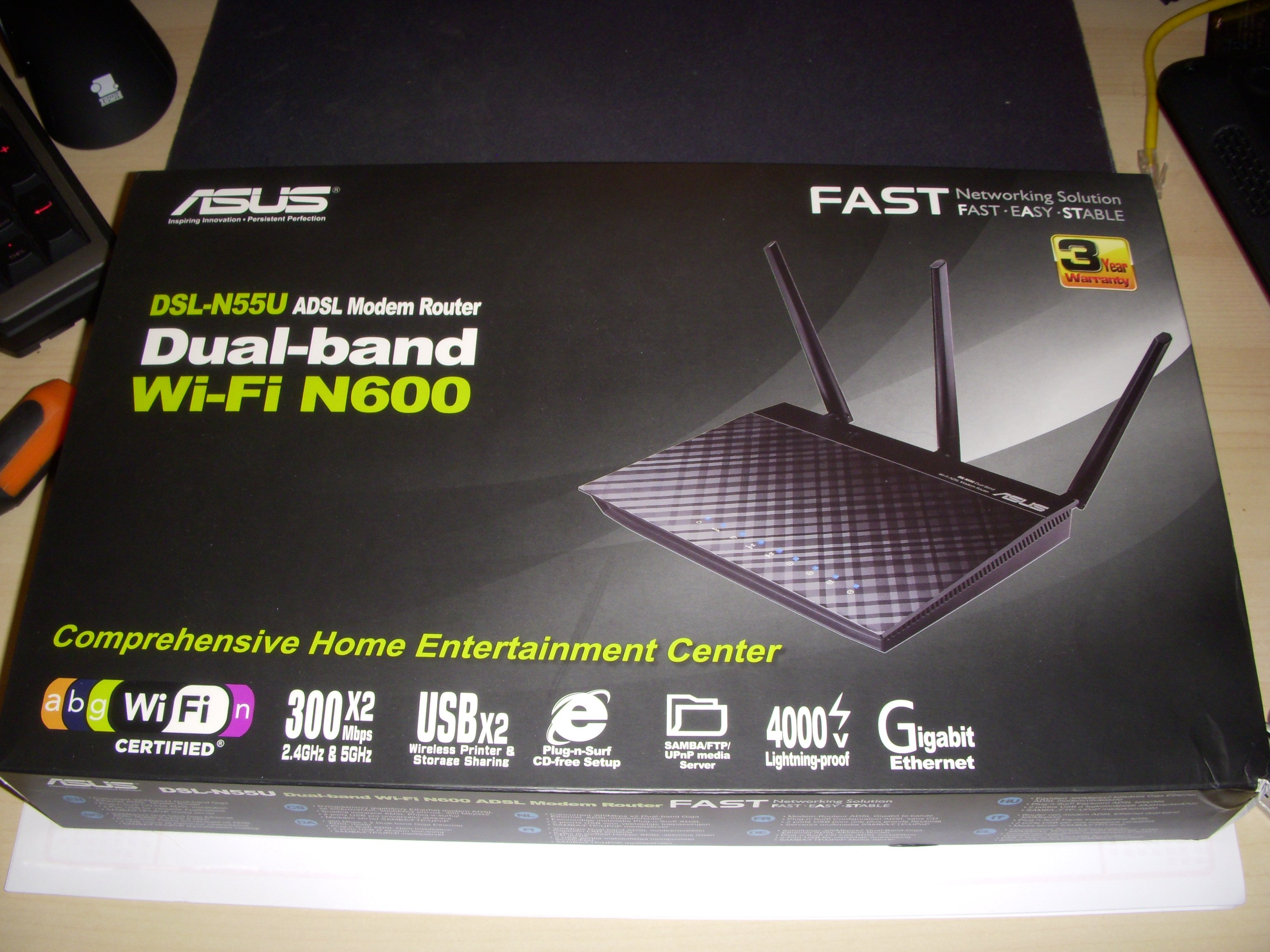 Asus DSL-N55U Wireless Router Drivers for Windows 8