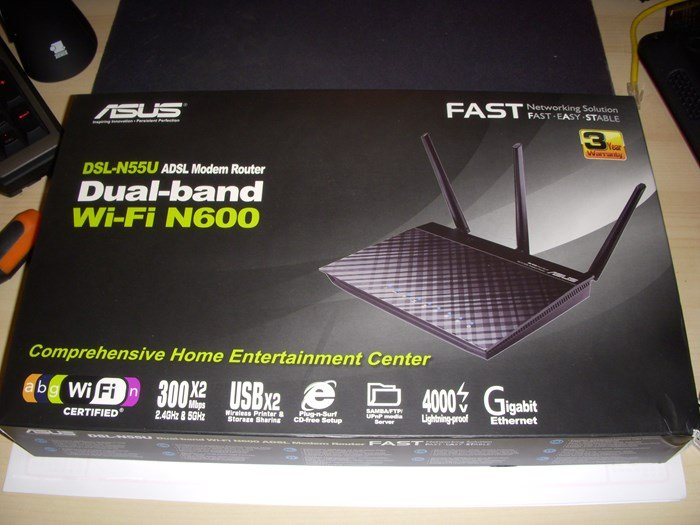 Asus DSL-N55U - Boxed - Review