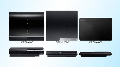 New Slimmer Sony PS3 - CECH-4000