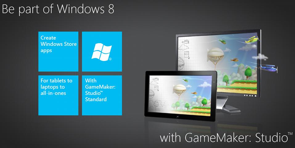 GameMaker Studio - Windows 8 Update