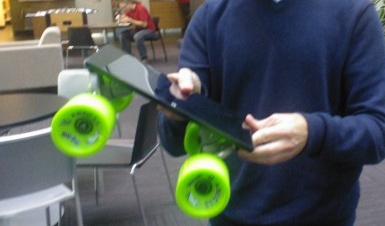 Microsoft Surface Skateboard