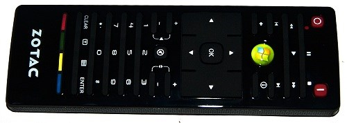 Zotac ZBOX Plus Giga HTPC - Remote