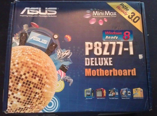 Asus P8Z77-I Deluxe Review - Boxed