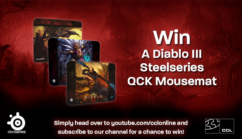 CCL SteelSeries Giveaway Information