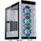 Corsair iCUE 465X Mid Tower Gaming Case - White USB 3.0
