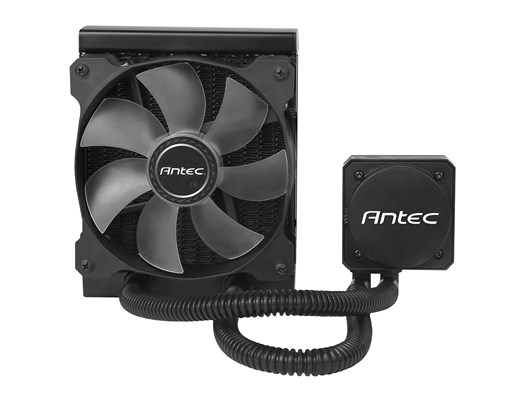 Antec Kühler H600 Pro Blue LED Liquid CPU Cooling System